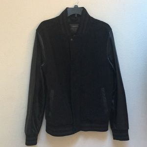 Other - Black letterman jacket